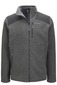 Macpac Men's Dunstan Fleece Jacket, Monument/Asphalt, hi-res