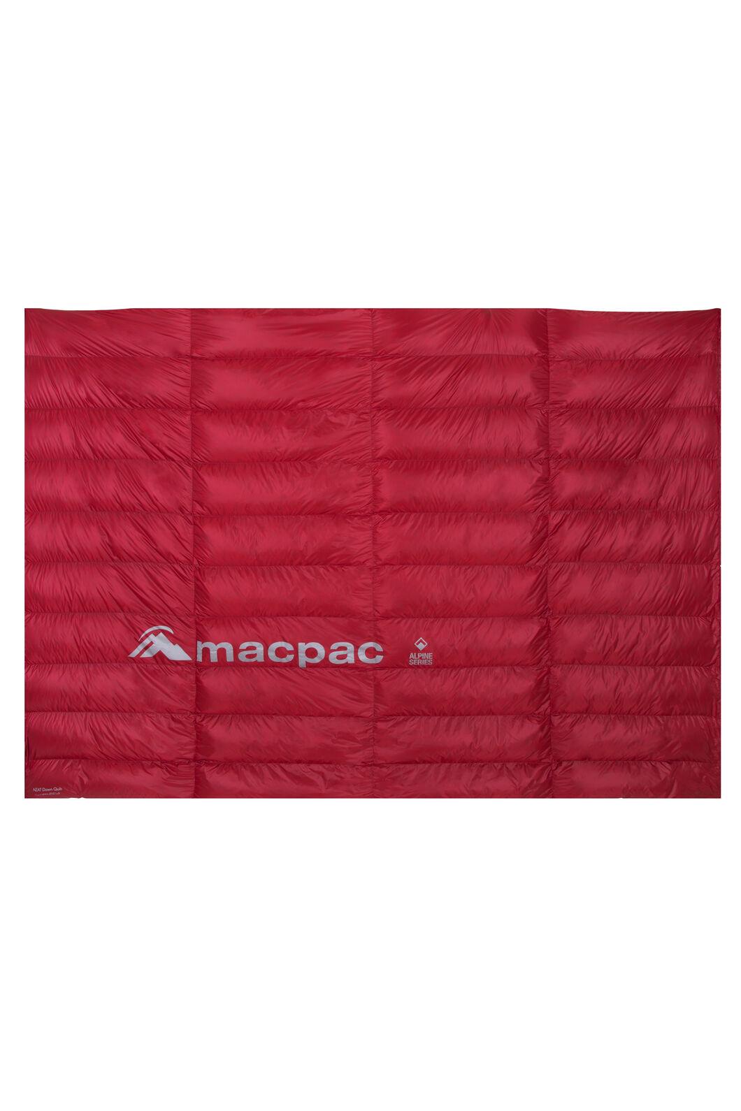 Macpac NZAT HyperDRY™ Down Quilt, Scarlet Sage, hi-res
