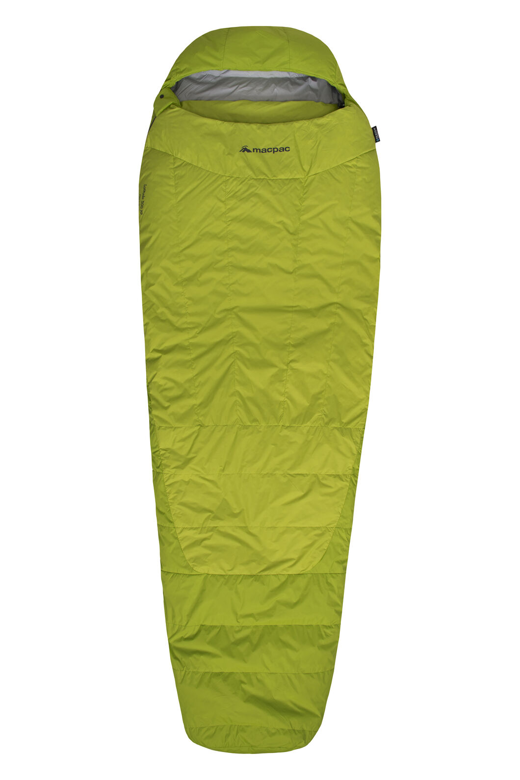 Macpac Latitude XP Goose Down 500 Sleeping Bag - Standard, Tender Shoots, hi-res