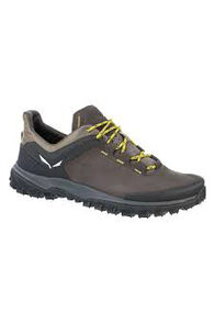 Salewa Wander Hiker Shoes - Men's, Black Olive/Bergot, hi-res