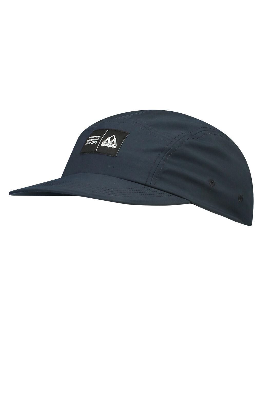 Macpac 5-Panel Hiker Cap, Carbon, hi-res