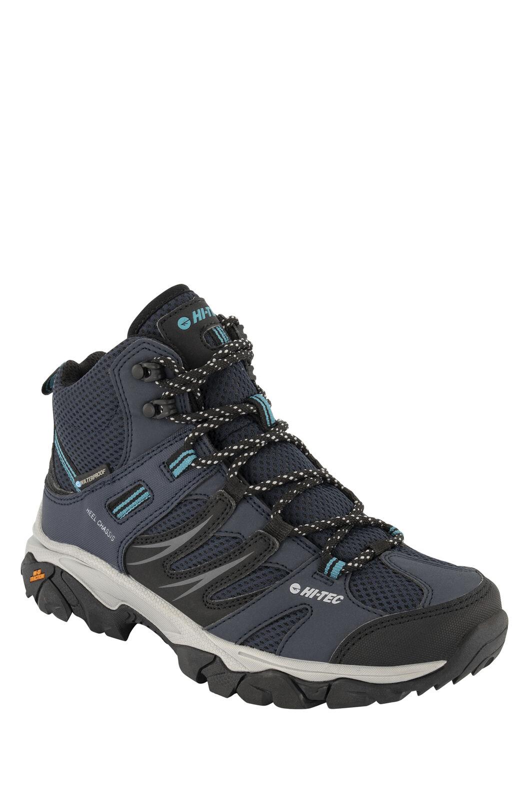 Hi-Tec Tarantula WP Mid Hiking Shoes — Women's, Night/Black Navigate, hi-res