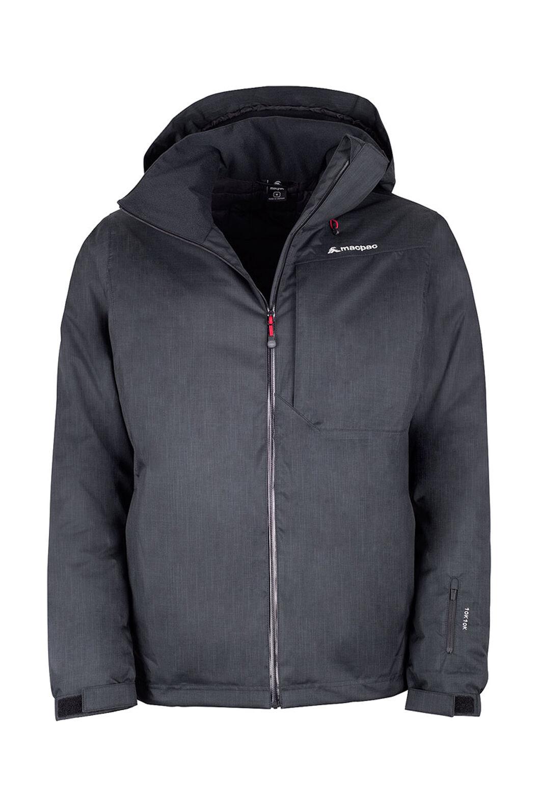 Macpac Powder Reflex™ Ski Jacket — Men's, Black/Black, hi-res