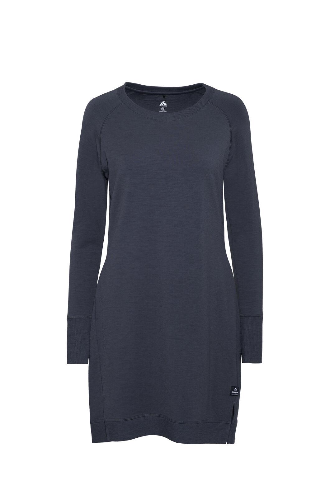Macpac Platform Merino Dress — Women's, India Ink, hi-res