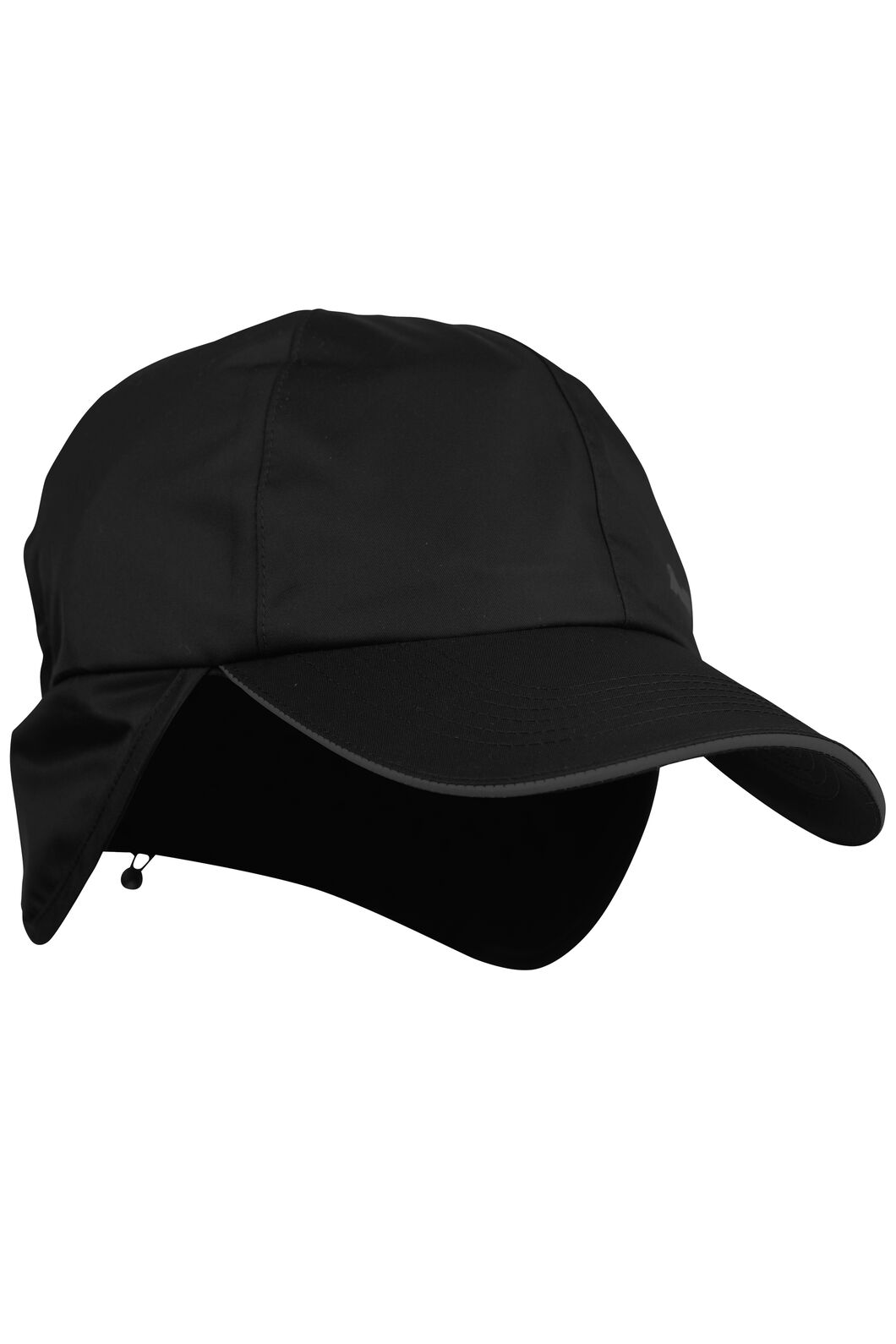Macpac Waterproof Cap, Black, hi-res