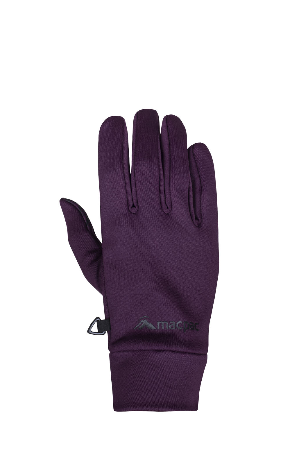 Macpac Stretch Gloves, Potent Purple, hi-res