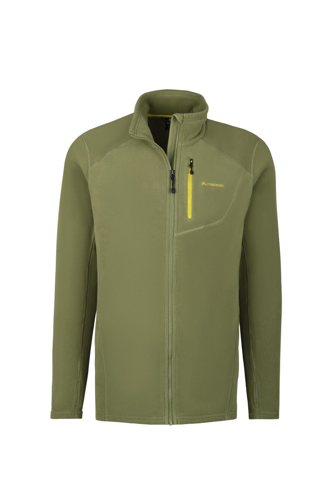Macpac Kea Polartec® Micro Fleece® Jacket - Men's, Loden Green, hi-res