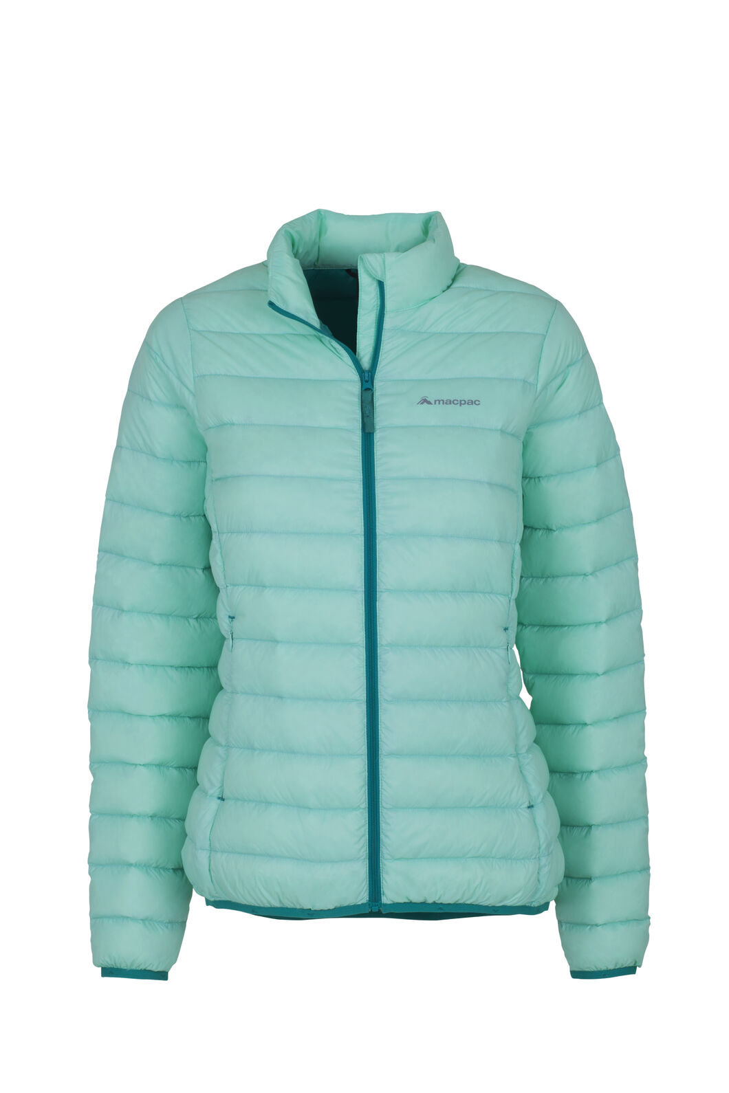 Macpac Uber Light Down Jacket - Women's, Ocean Wave, hi-res