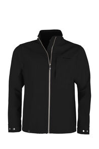 Macpac Chord Softshell Jacket — Men's, Black, hi-res