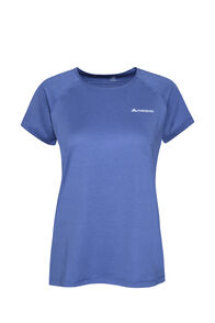 Macpac Eyre Short Sleeve Tee — Women's, Marlin, hi-res