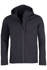 Chord Hooded Softshell Jacket - Men's, Black, hi-res