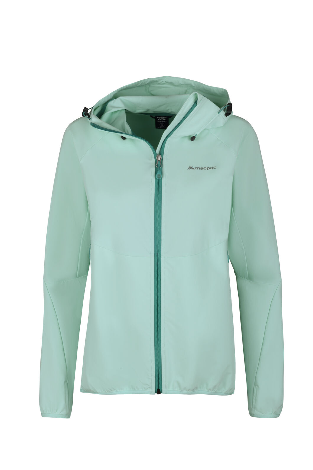 Macpac Mannering Hooded Jacket - Women's, Beach Glass, hi-res