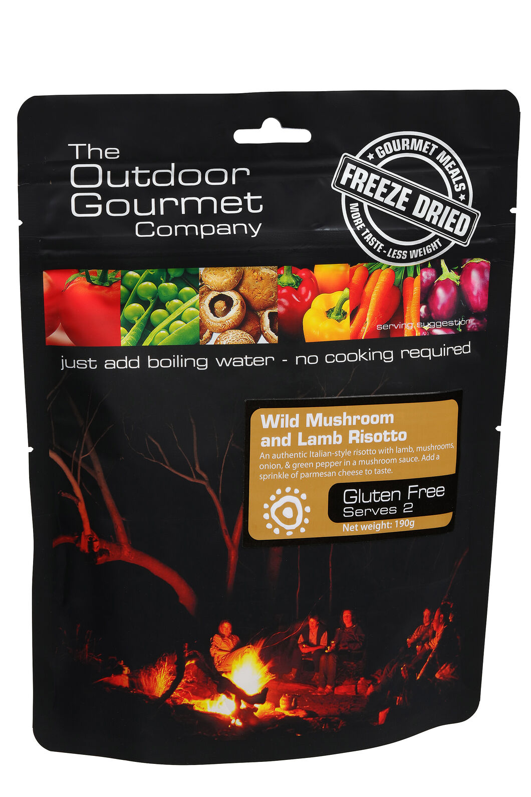 Outdoor Gourmet Wild Mushroom & Lamb Risotto, None, hi-res