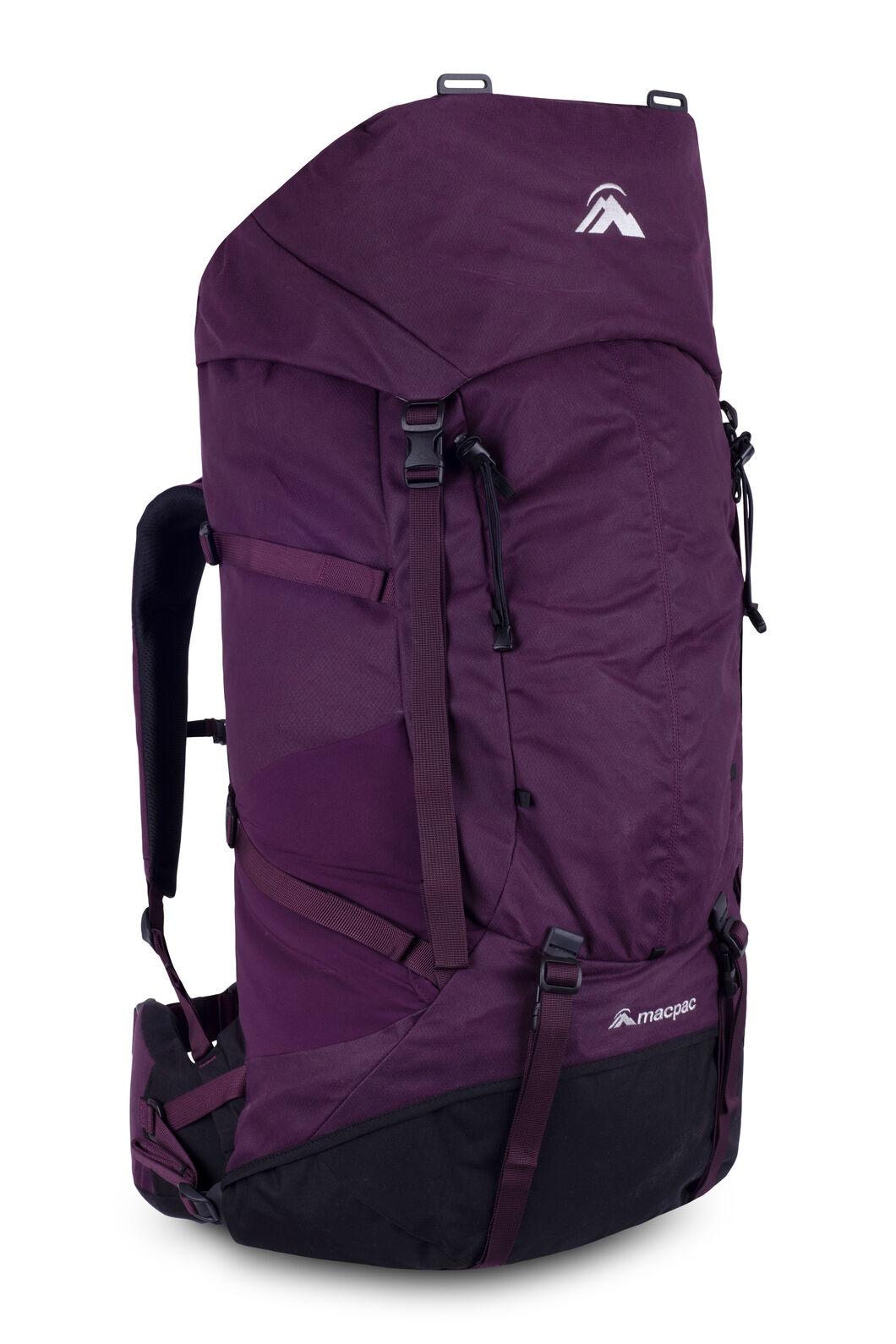 Macpac Cascade AzTec® 65L Hiking Backpack, Potent Purple/Black, hi-res