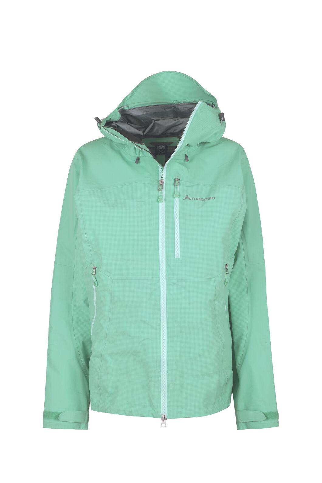 Macpac Lightweight Prophet Pertex® Rain Jacket - Women's, Turquoise, hi-res