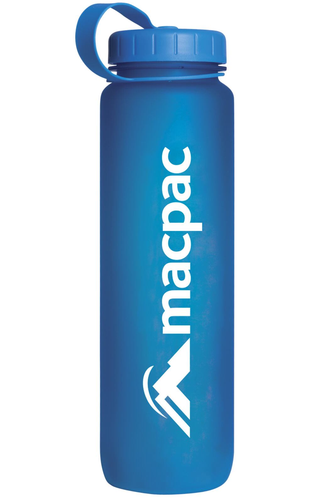 Macpac Soft Touch Water Bottle 1L, Blue, hi-res