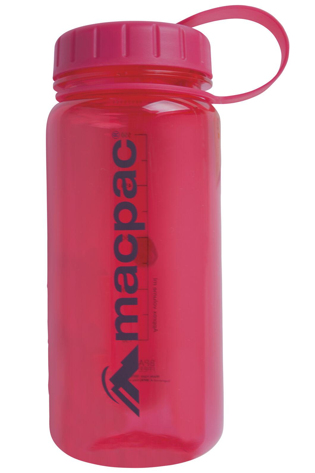 Macpac Drink Bottle 550mL, Pink, hi-res
