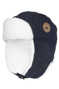 Macpac Winter Quilted Hat, Carbon, hi-res