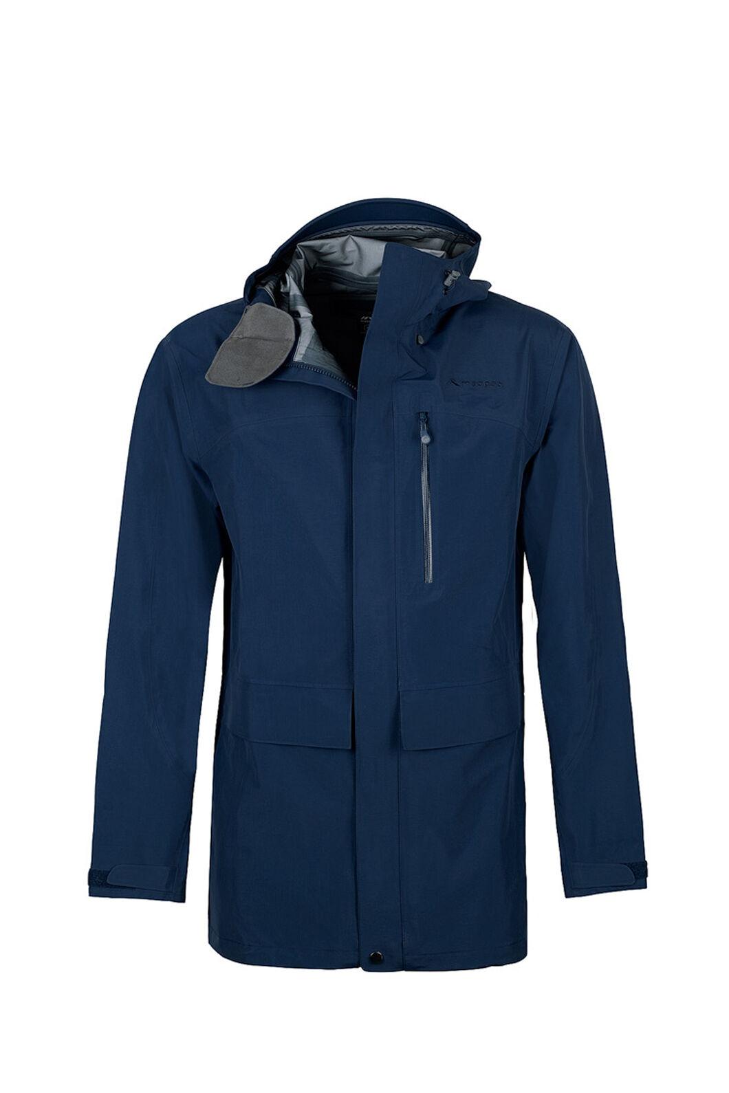 Macpac Resolution Pertex® Rain Jacket — Men's, Black Iris, hi-res