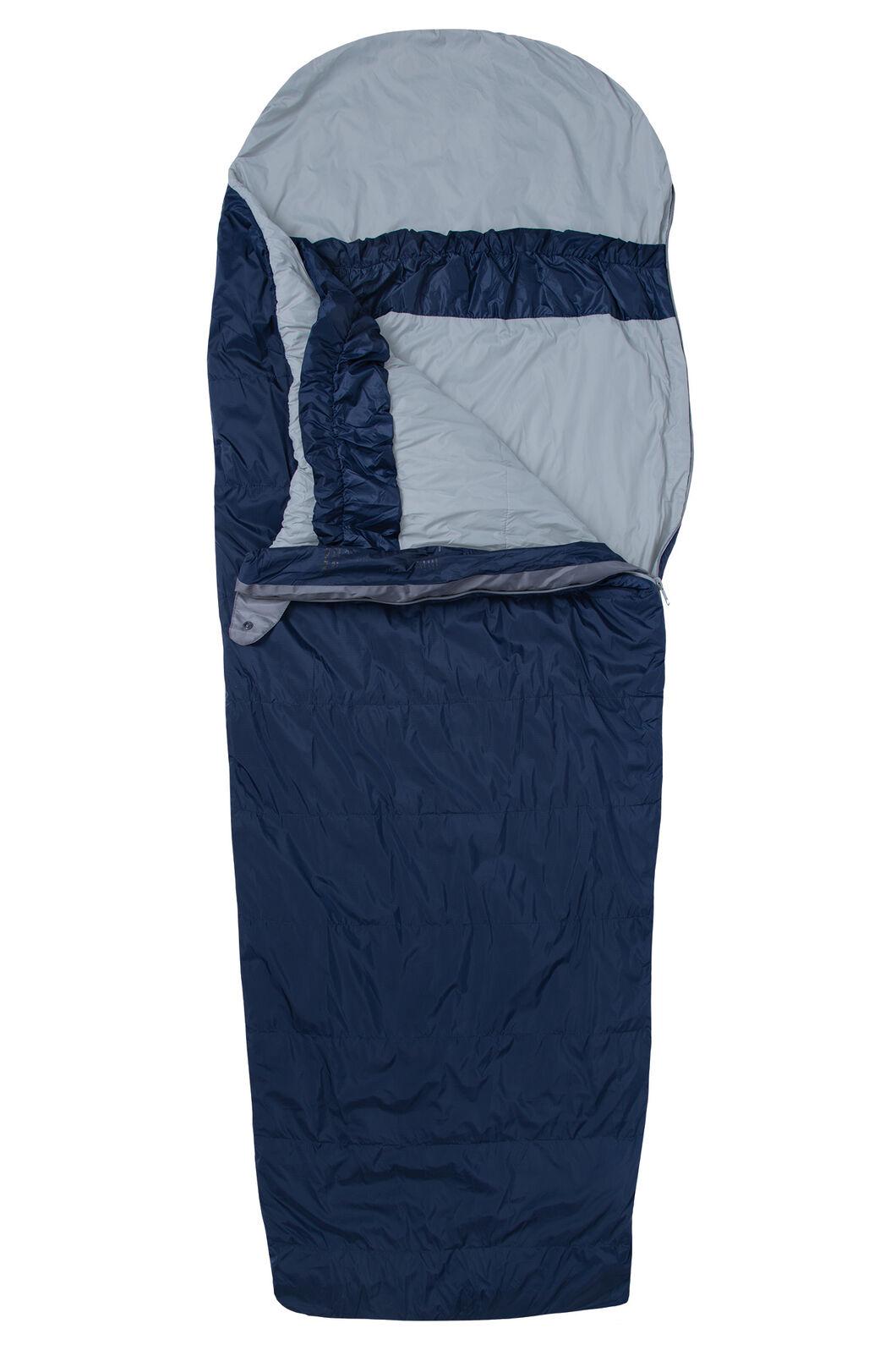 Macpac Roam 150 Synthetic VapourLite™ Sleeping Bag - Kid's, Black Iris, hi-res