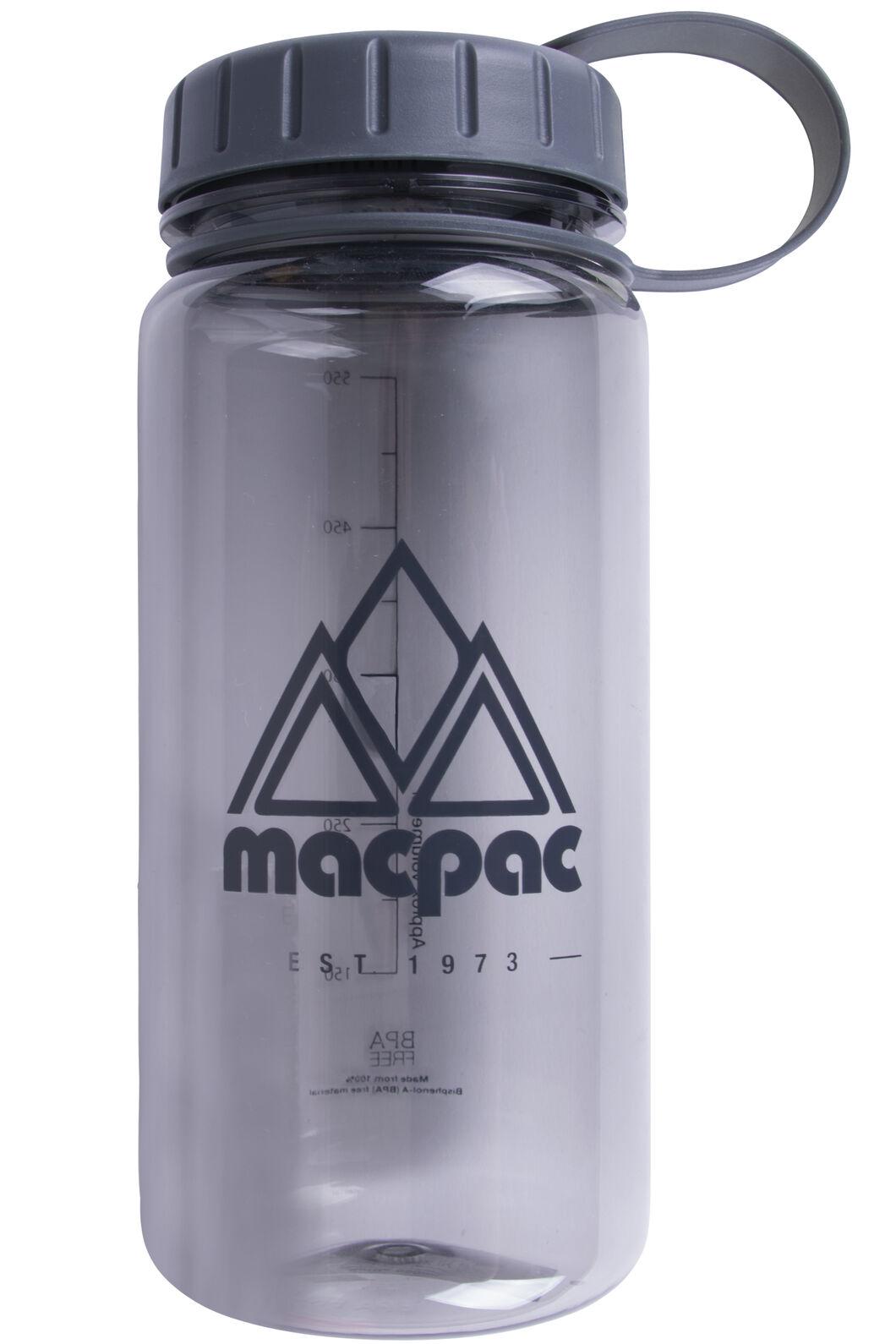 Macpac Water Bottle — 550ml, Grey, hi-res