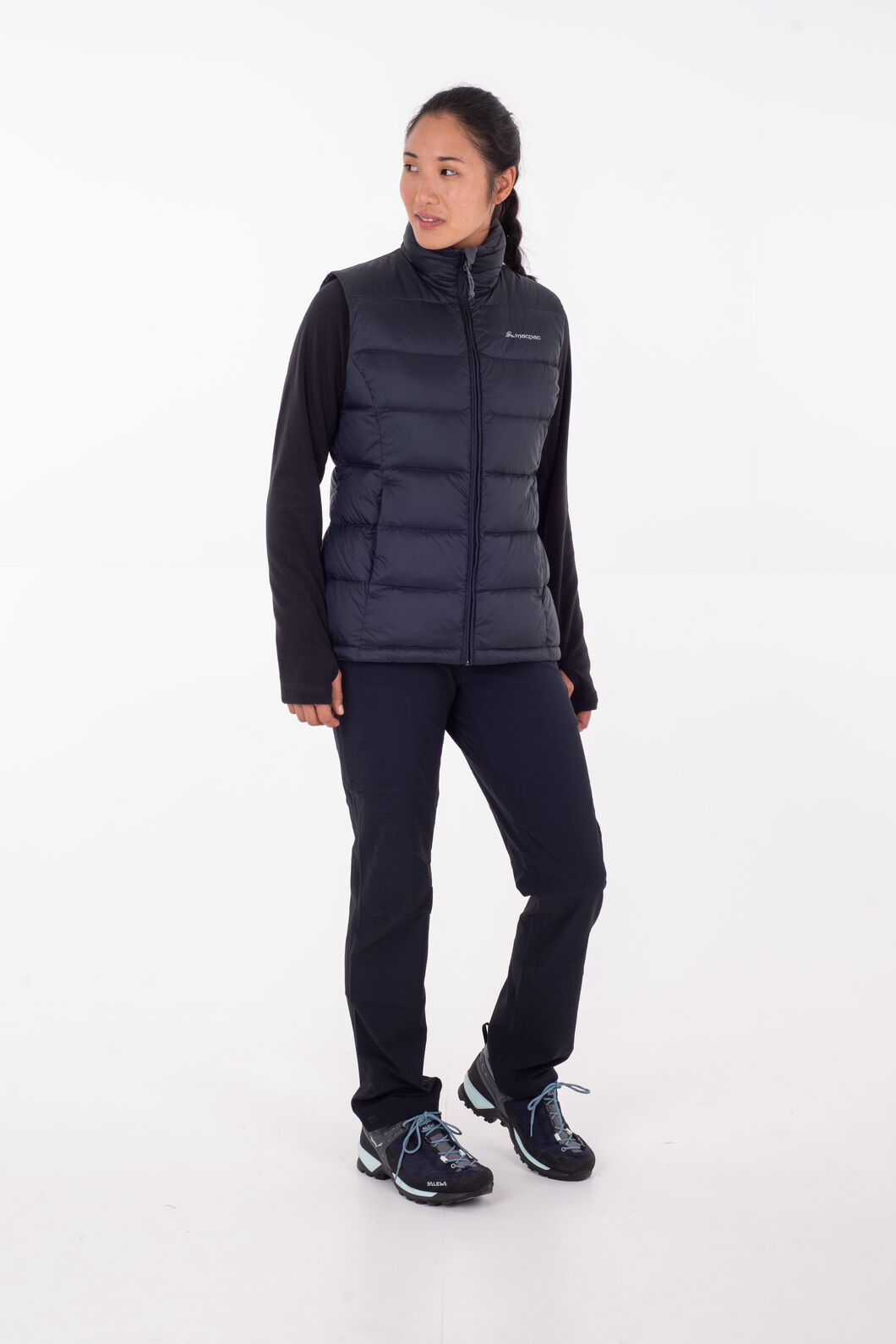 Macpac Halo Down Vest - Women's, Woodrose, hi-res