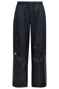 Macpac Women's Jetstream Reflex™ Rain Pants, Black, hi-res