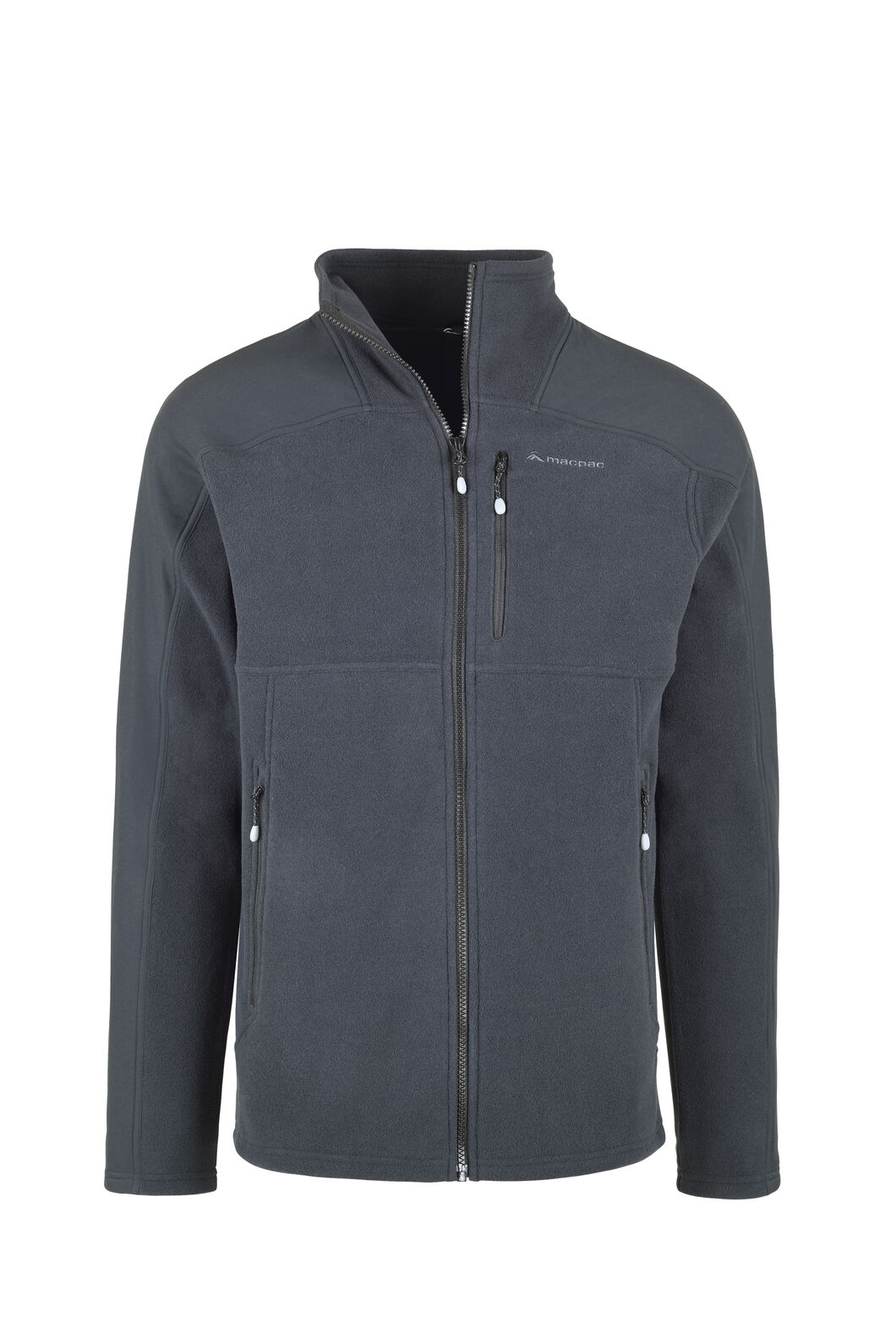 Macpac Dunstan Fleece - Men's, Black/Black, hi-res