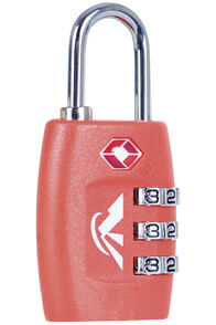 Macpac TSA Combo Padlock, Orange, hi-res