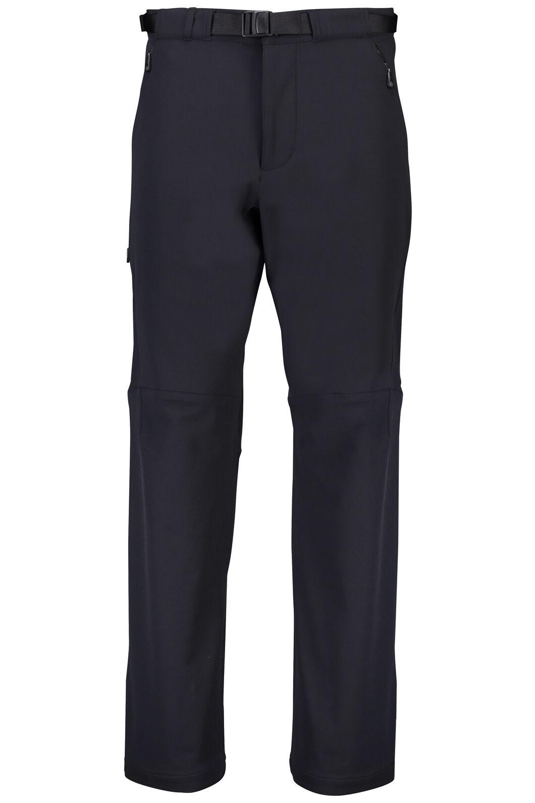 Macpac Nemesis Softshell Pants - Men's, Black, hi-res