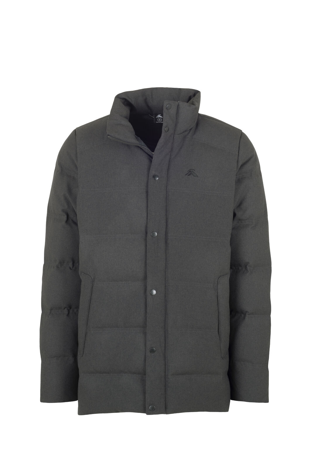 Macpac Meridian Down Jacket - Men's, Charcoal Marle, hi-res