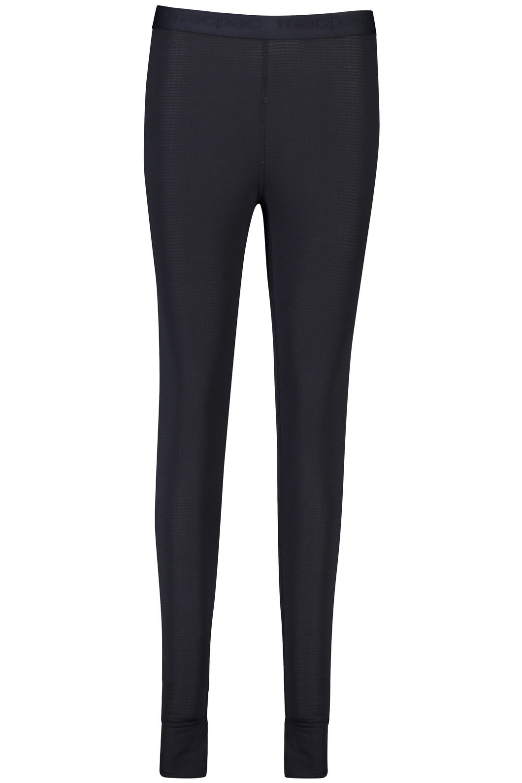 Macpac ProThermal Long Johns - Women's, Black, hi-res