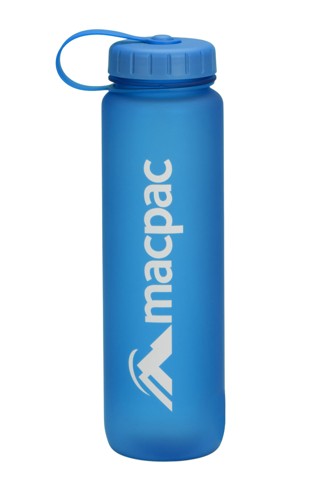 Macpac Soft Touch Water Bottle — 1L, Blue, hi-res