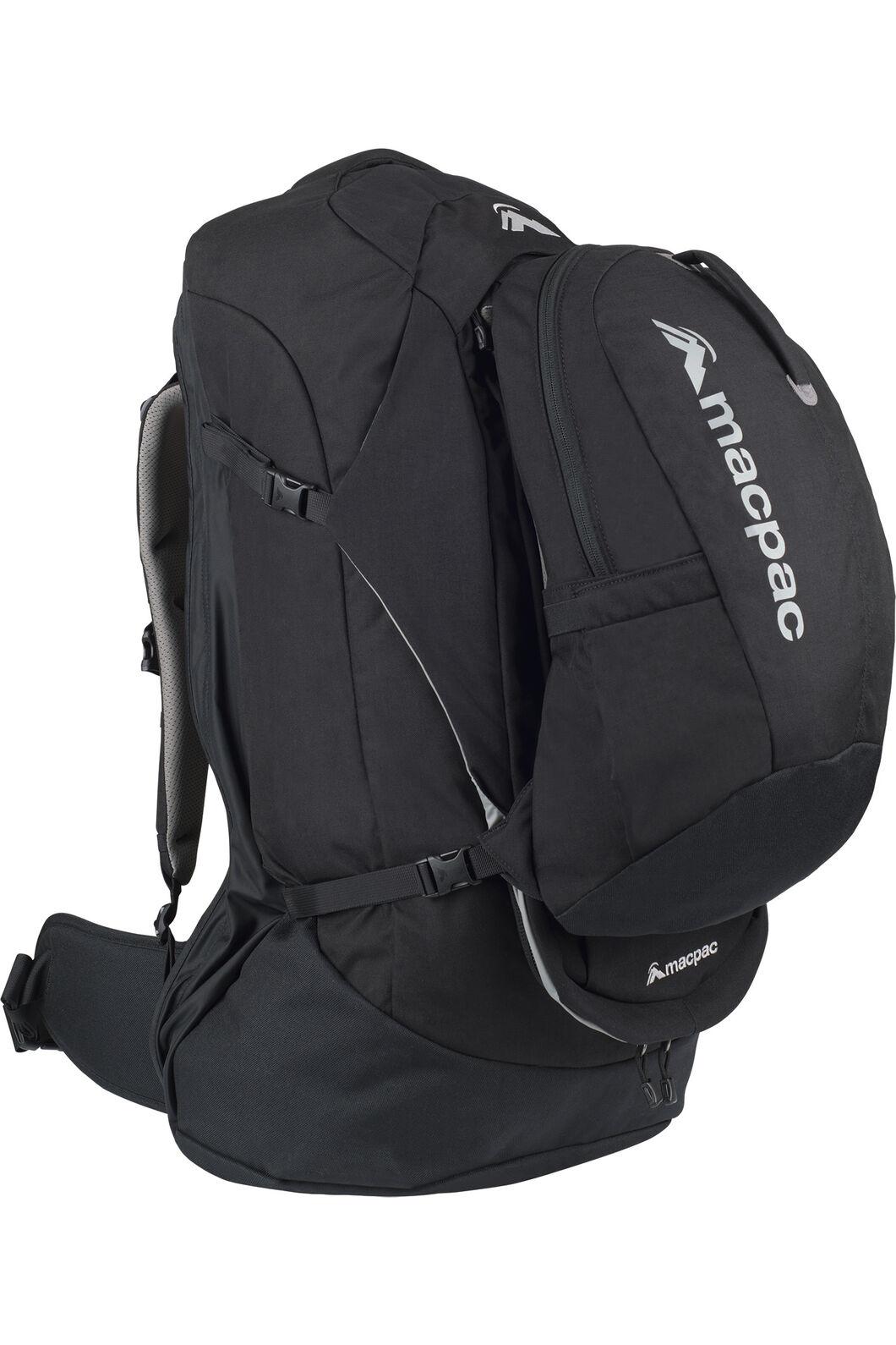 Macpac Pegasus 70L Pack, Black, hi-res