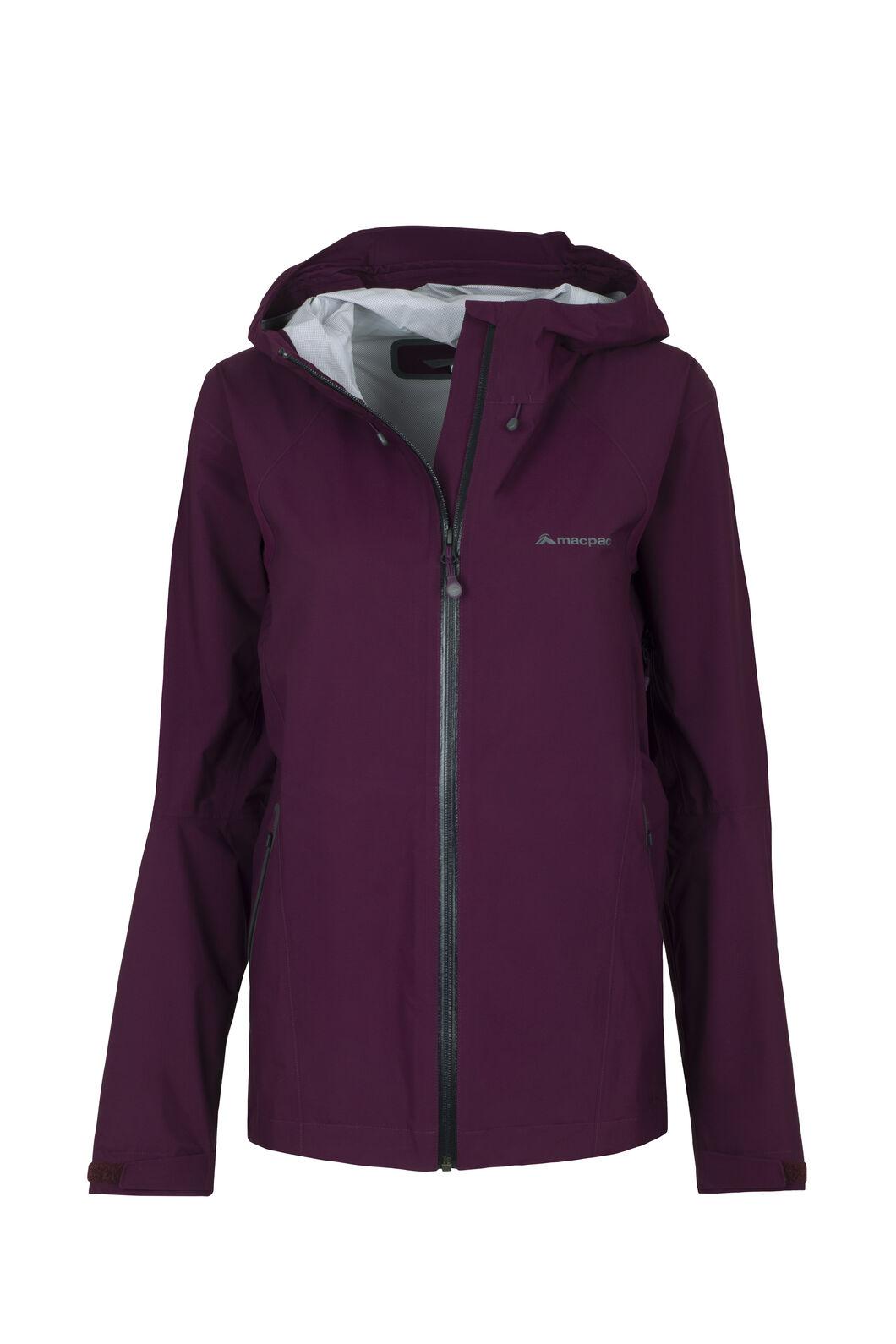 Macpac Less is Less Rain Jacket - Women's, Potent Purple, hi-res