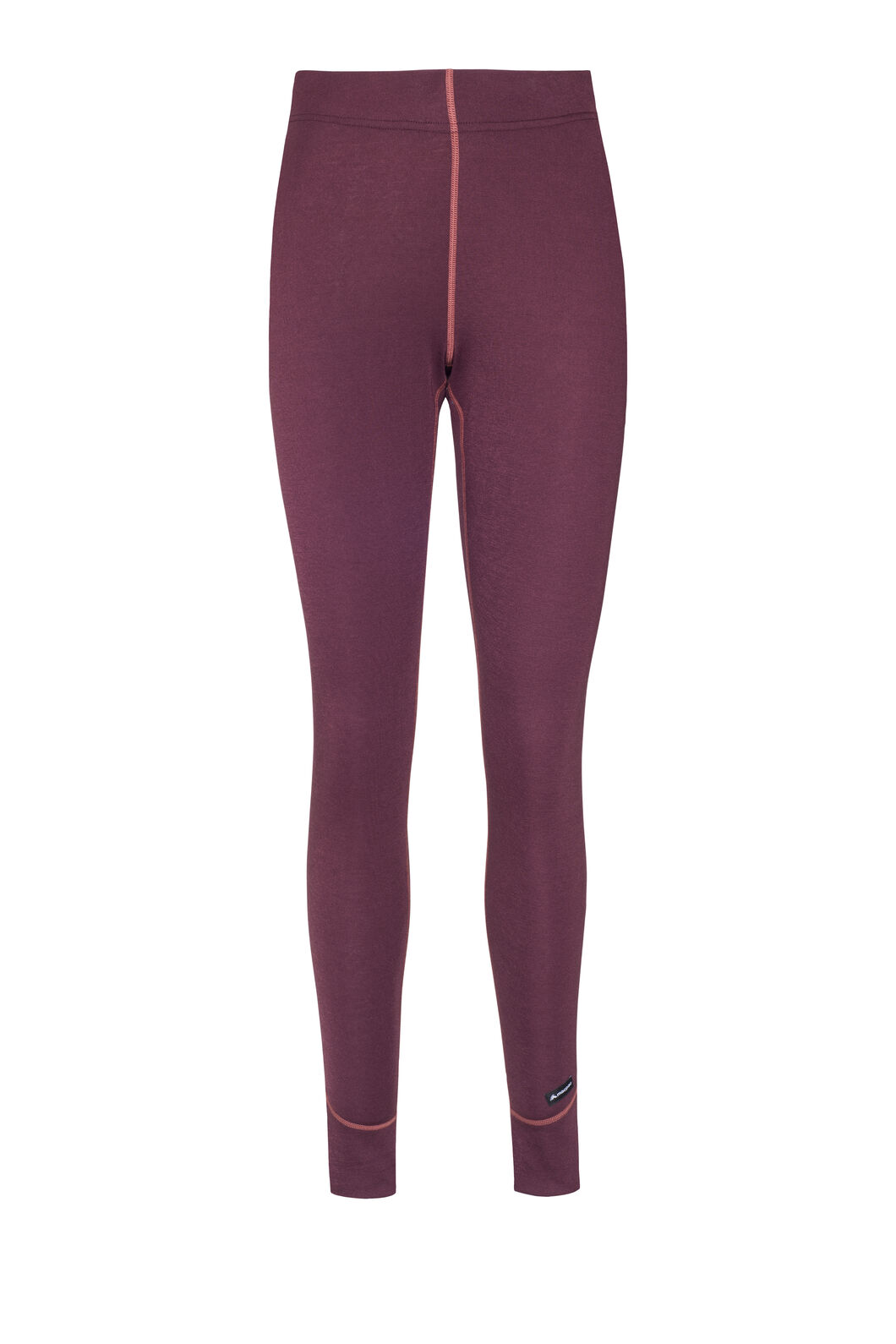 Macpac Geothermal Long Johns — Women's, Vineyard Wine, hi-res