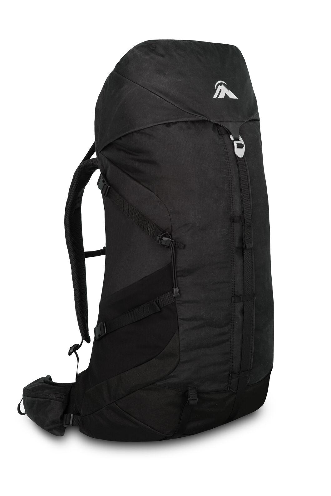 Macpac Rhyolite 47L Hiking Backpack, Black, hi-res