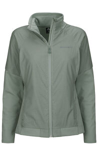 Macpac Saros Polartec® Alpha® Jacket — Women's, Aqua Gray, hi-res