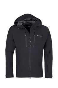 Macpac Fitzroy Alpine Series Softshell Jacket — Men's, Black, hi-res