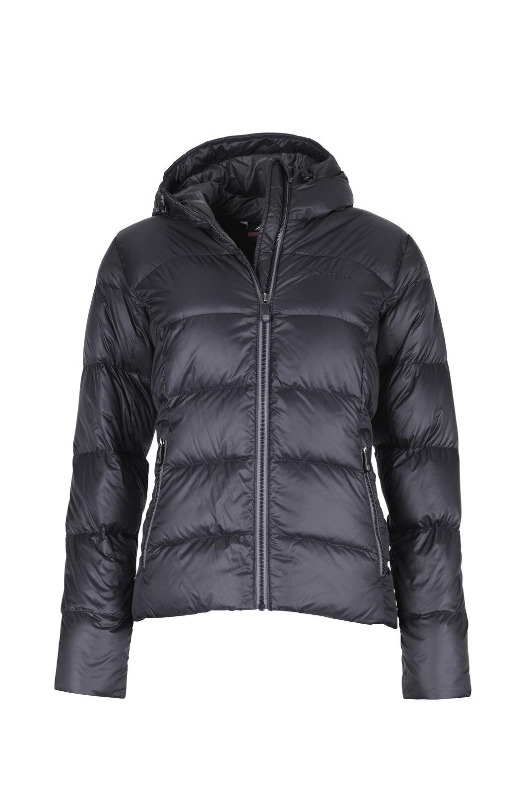 Macpac Sundowner HyperDRY™ Hooded Down Jacket — Women's, Black, hi-res