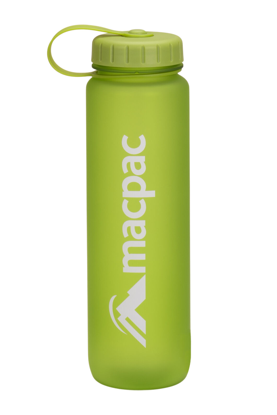 Macpac Soft Touch Water Bottle — 1L, Green, hi-res
