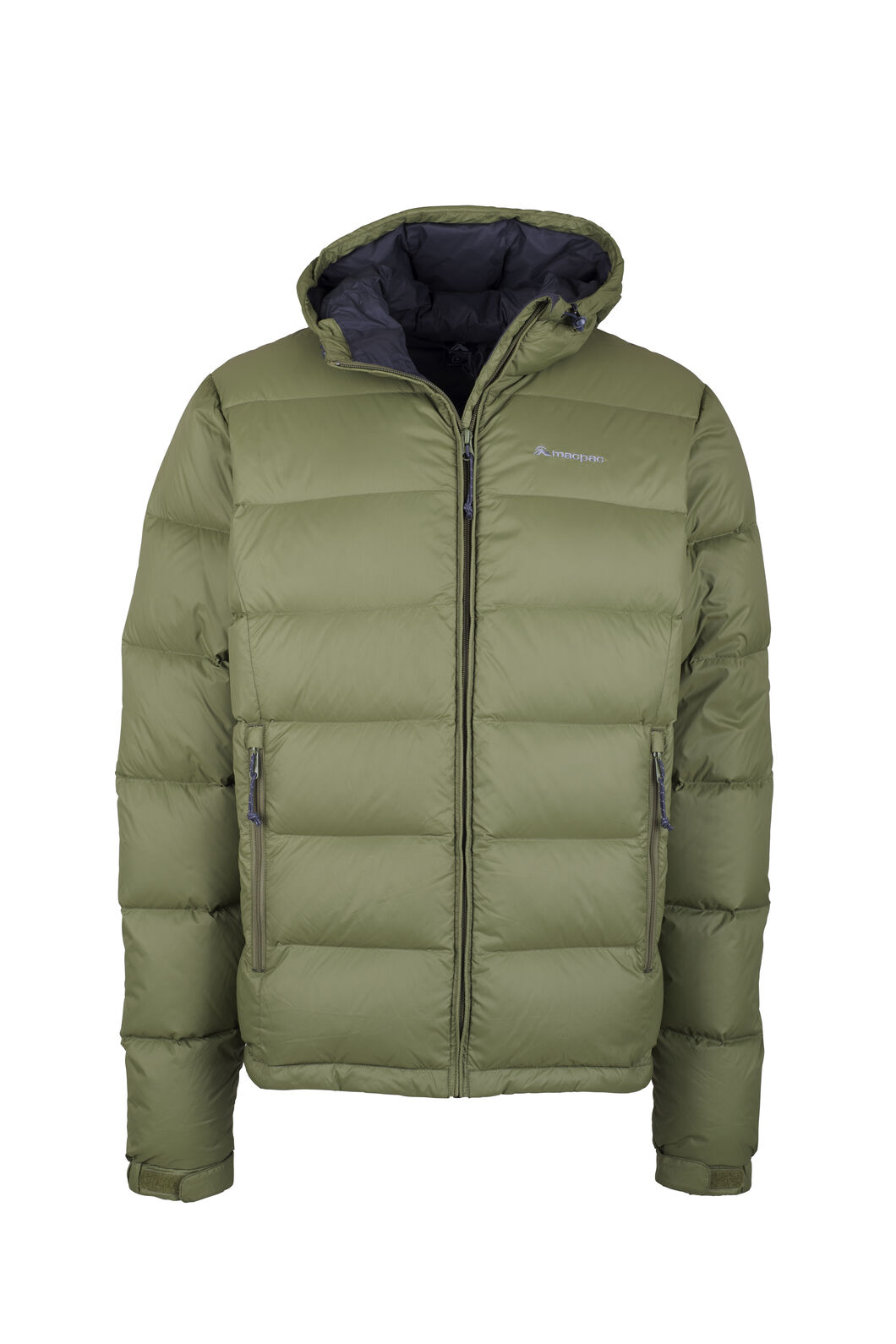 Macpac Halo Hooded Down Jacket - Men's, Loden Green, hi-res