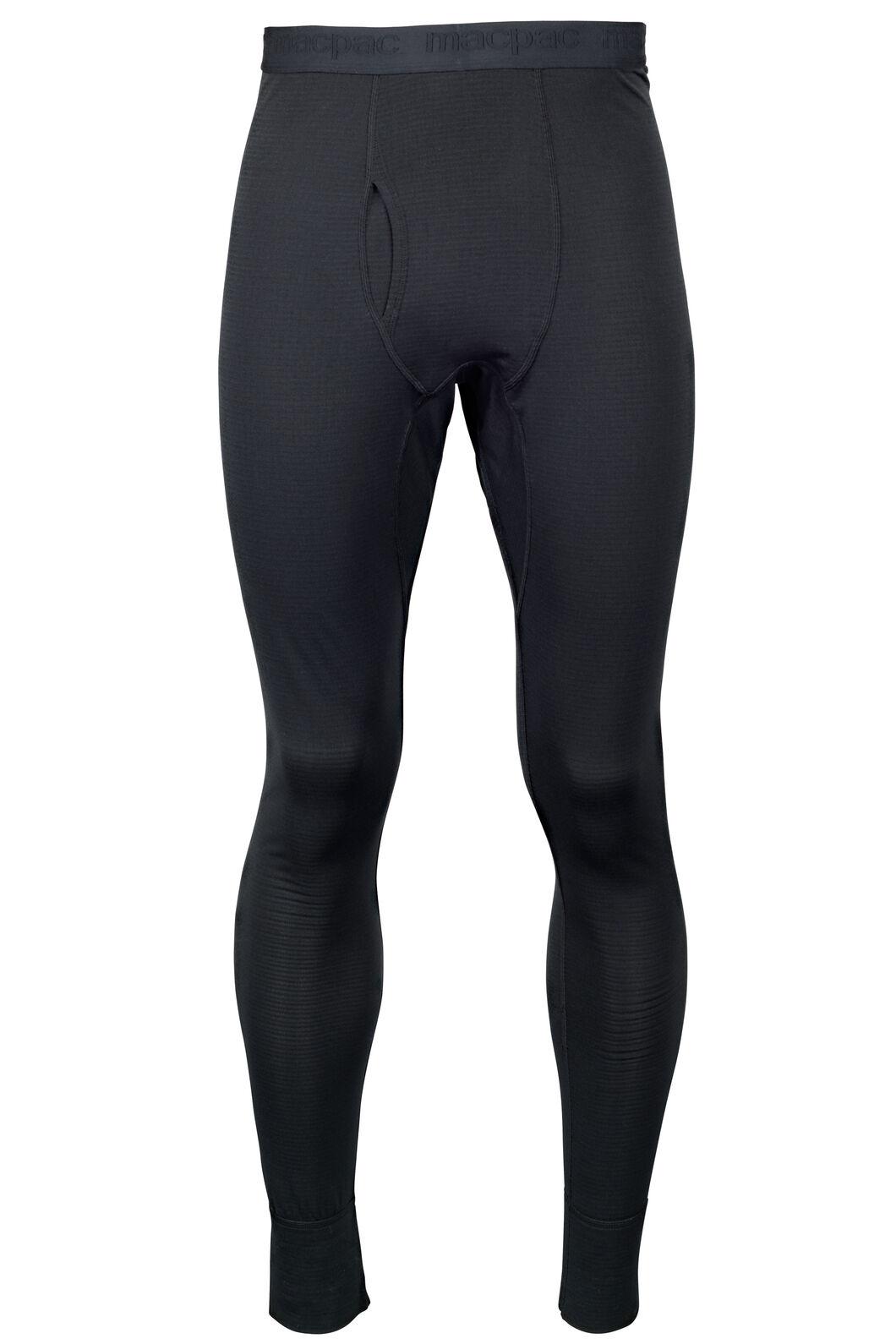 Macpac Men's Prothermal Polartec® Long Johns, Black, hi-res