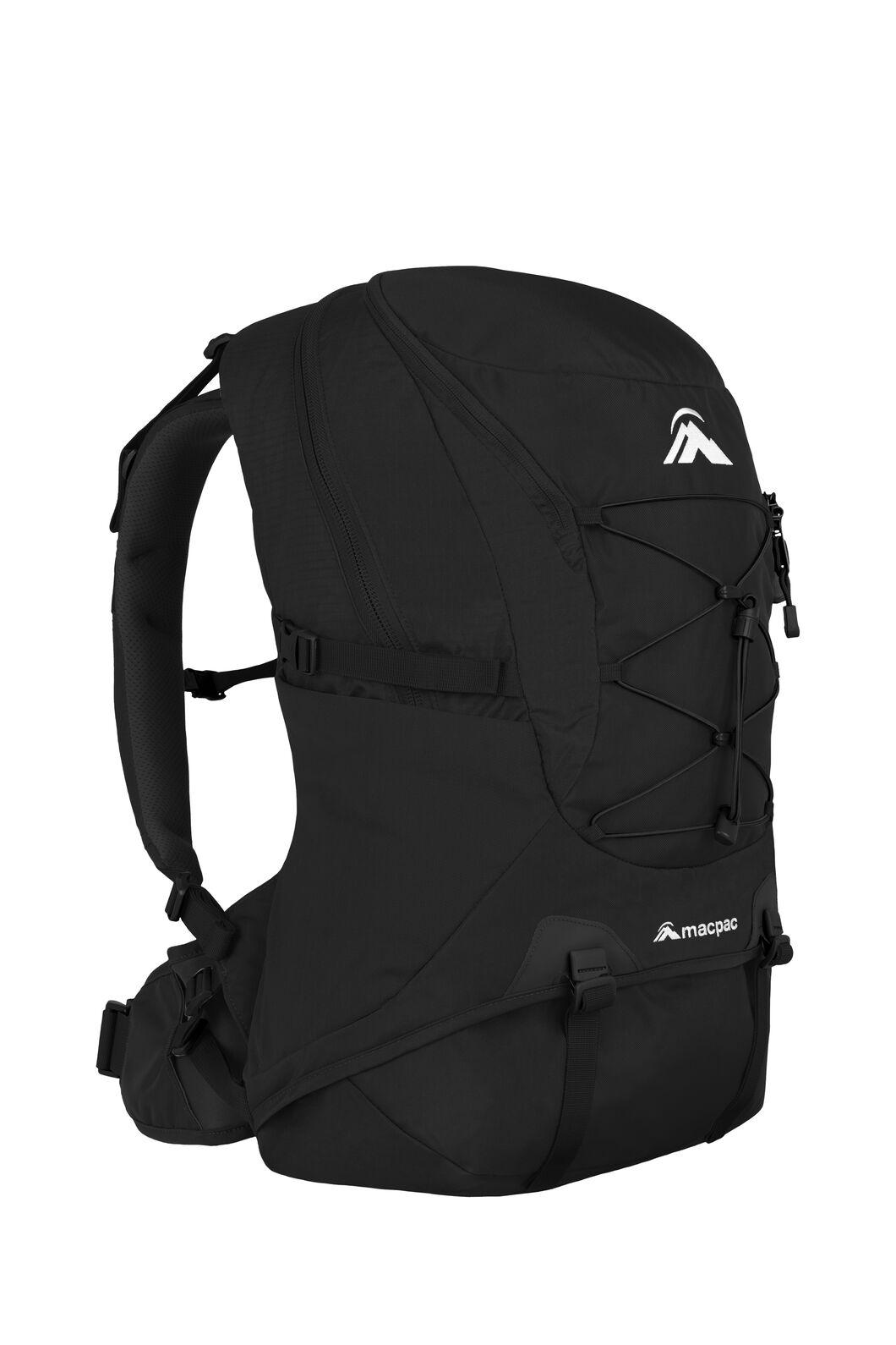 Macpac Voyager 35L Pack, Black, hi-res