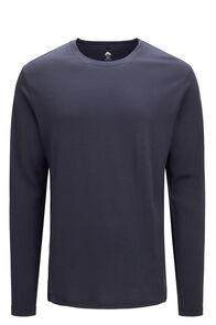 Macpac Lyell 180 Merino Long Sleeve Tee — Men's, BLUE NIGHTS, hi-res