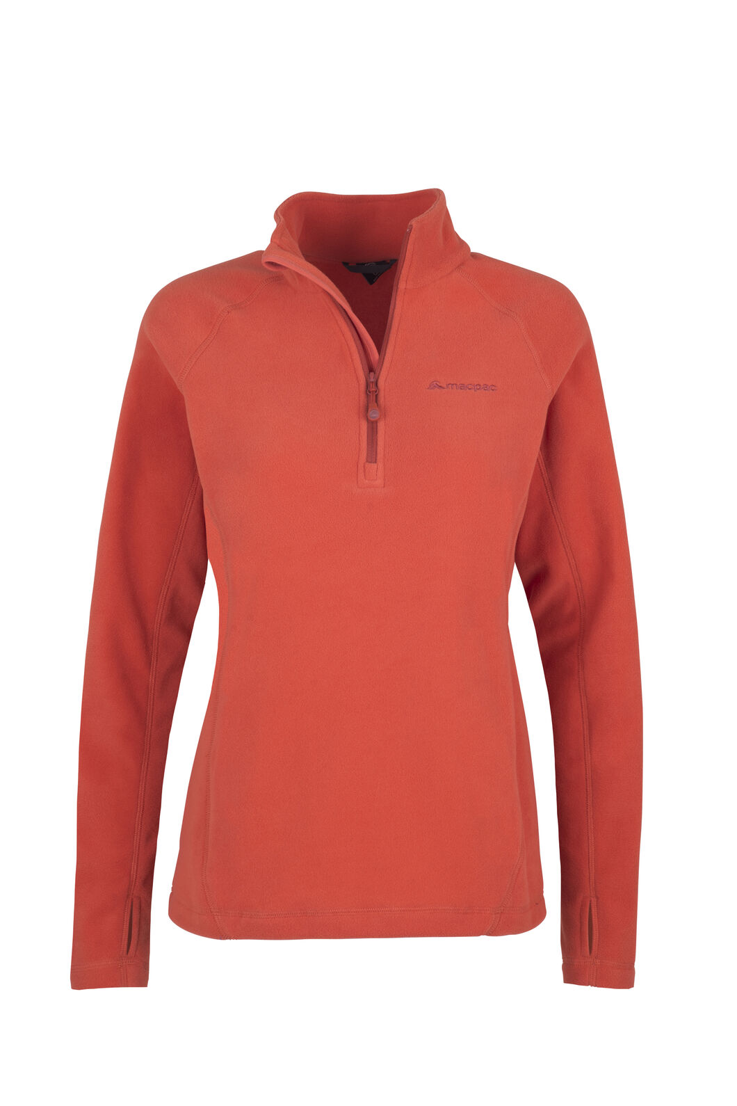 Macpac Tui Fleece Pullover - Women's, Chilli, hi-res