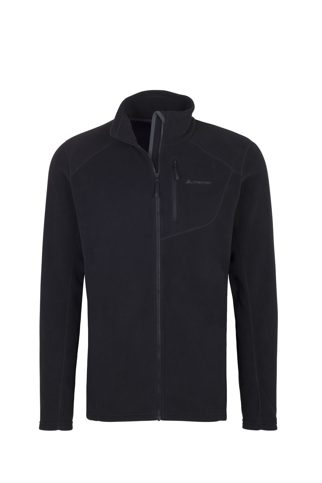 Macpac Kea Polartec® Micro Fleece® Jacket - Men's, Black, hi-res