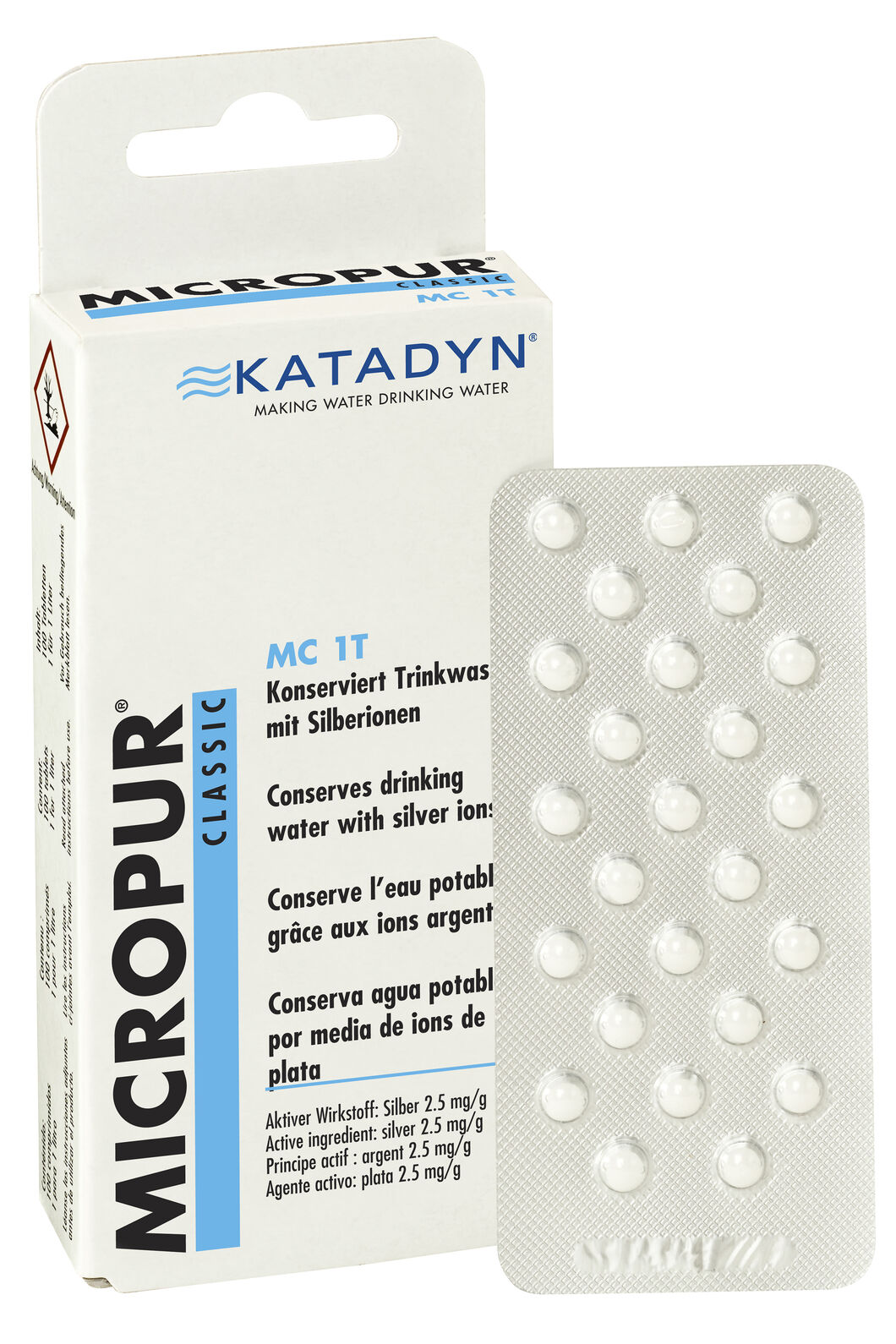 Katadyn Micro Tablets — 100 Tablets, None, hi-res