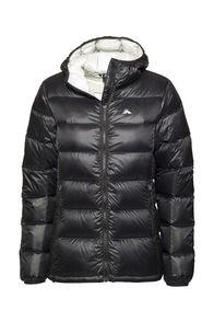 Macpac Jupiter Hooded Down Jacket — Women's, Black, hi-res