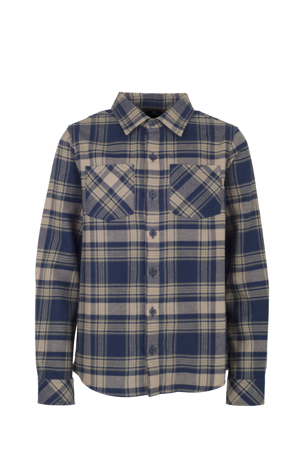 Macpac Milo Shirt - Kids', Salute/Grape Leaf, hi-res